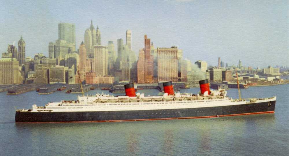 RMS Queen Mary's